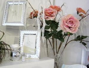 Argento e rose